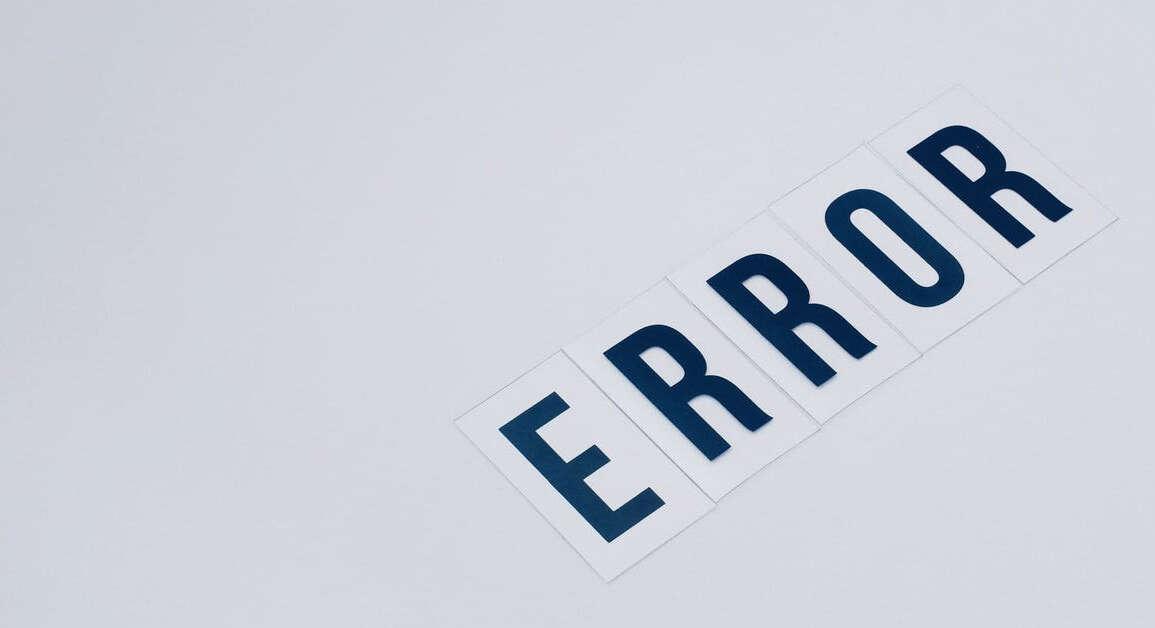 Darnos cuenta de las equivocaciones